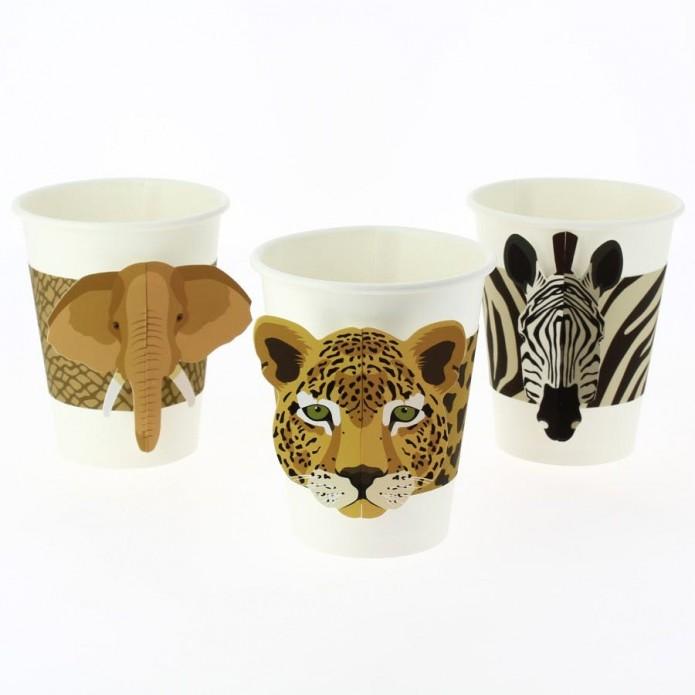 Vasos de cartón Savanna