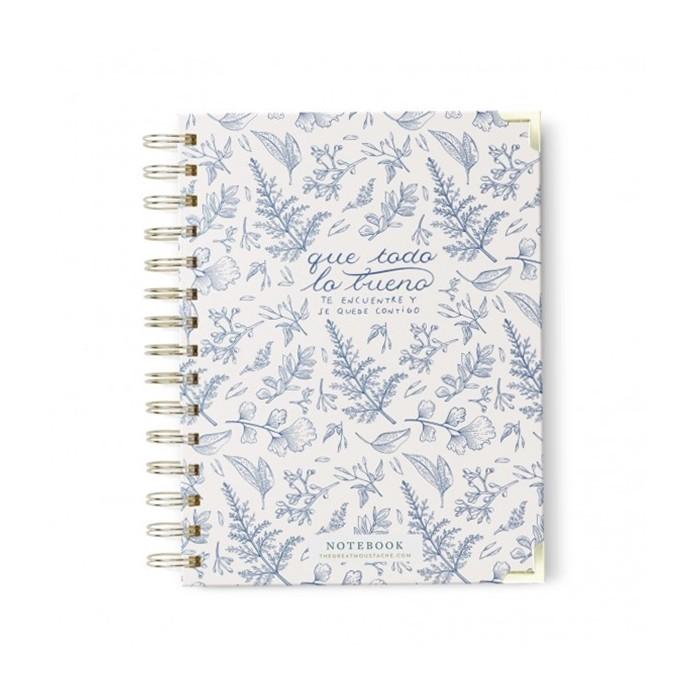 Cuaderno Blue Vintage
