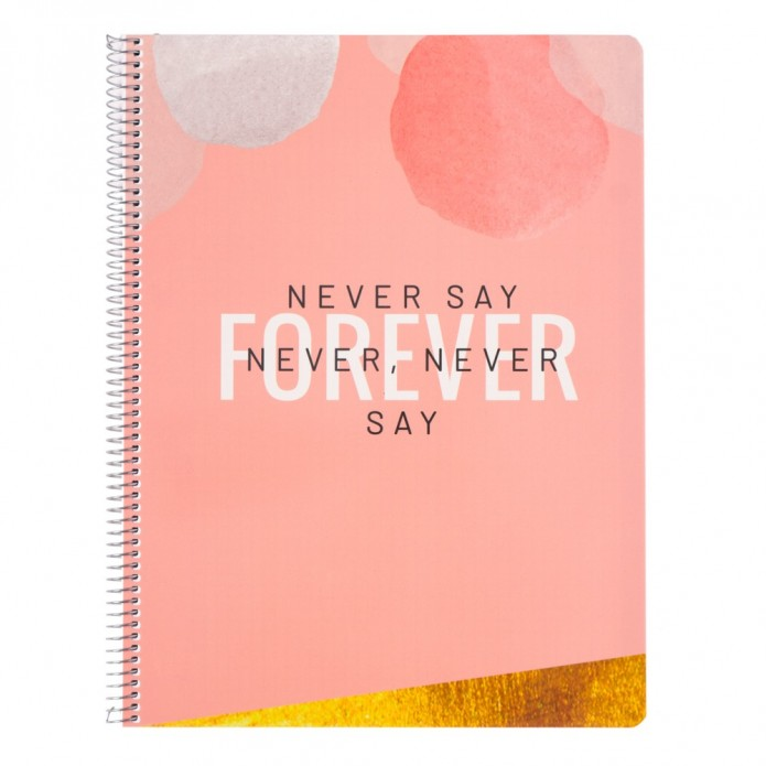 Cuaderno A4 Forever