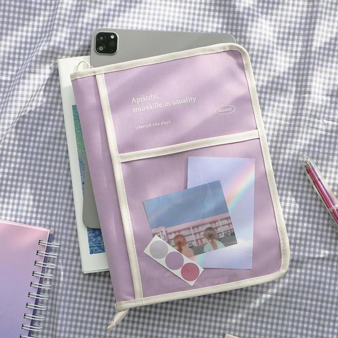 Funda Cottony Book - Lavender