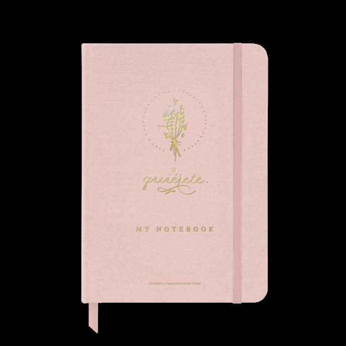 Cuaderno Quiérete  - Pink