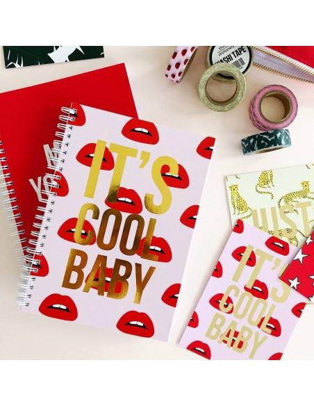 Libreta It´s cool baby