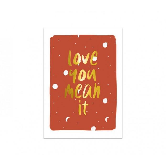 Postal Love you mean it