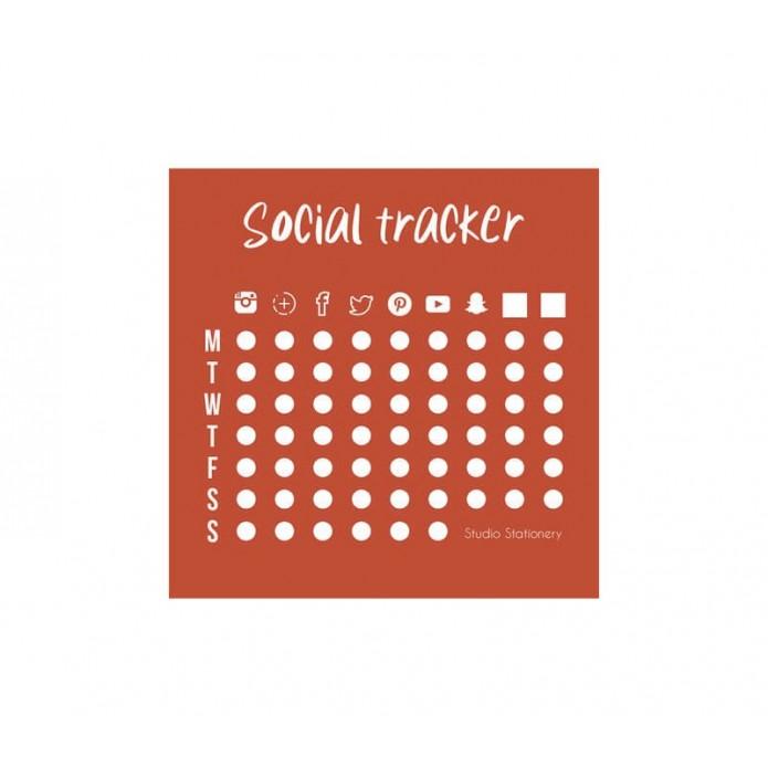 Bloc de notas Social Tracker