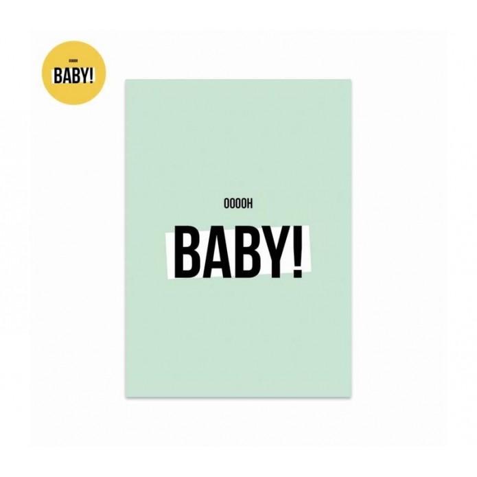 Postal Baby - mint
