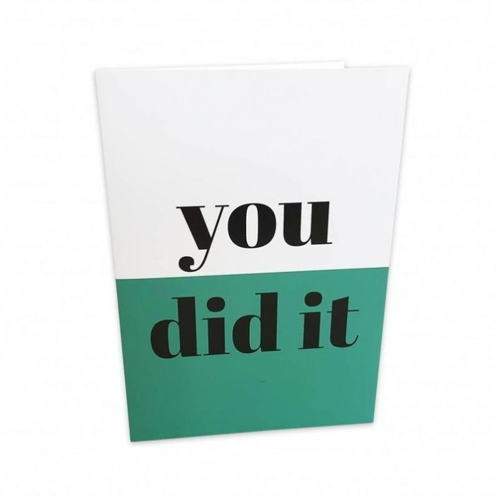 Tarjeta You did it