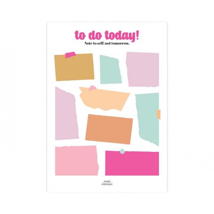 Bloc de notas To do today
