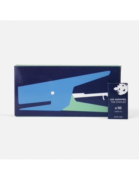Grapadora Blue Green