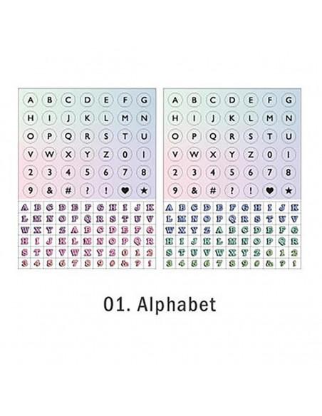 Pegatinas Everyday - Alphabet