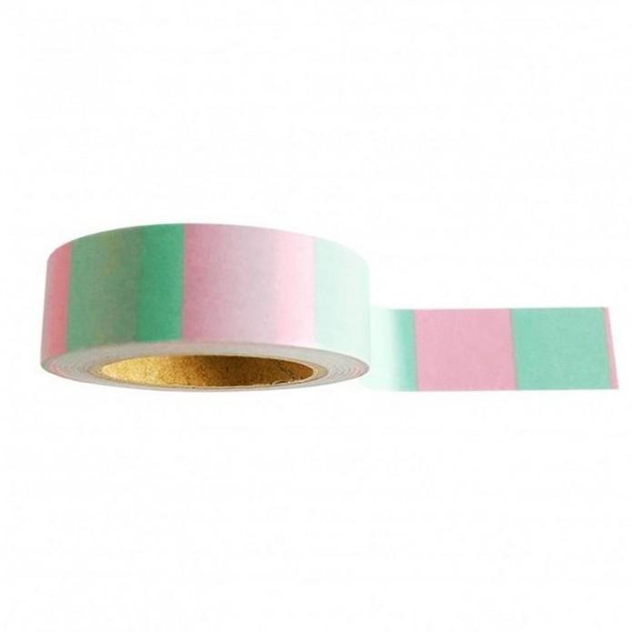 Washi Tape Pink Mint