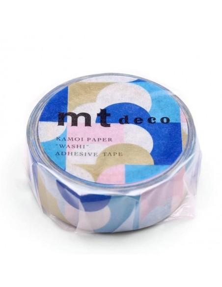 Masking Tape MT Half Circle Pink Blue