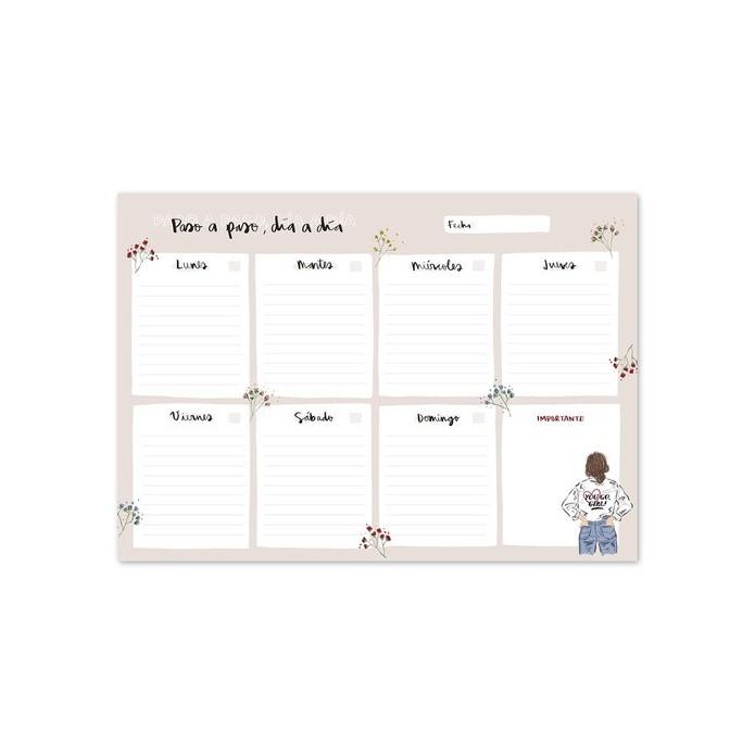Planificador semanal Ana Marín