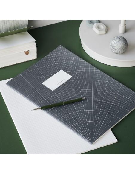 Set de 2 cuadernos A4 Linies Angora/Grey