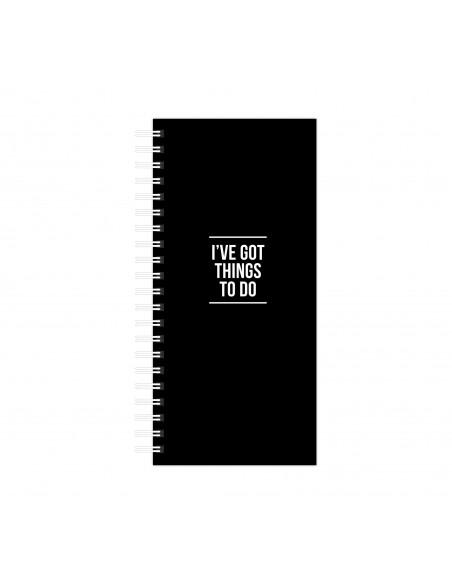 Bloc de notas Things to do