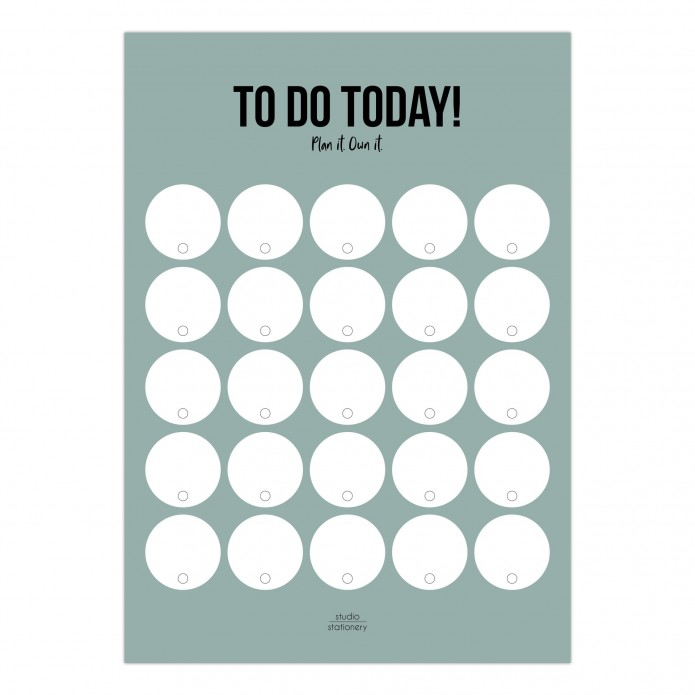 Planner To do Today Sage