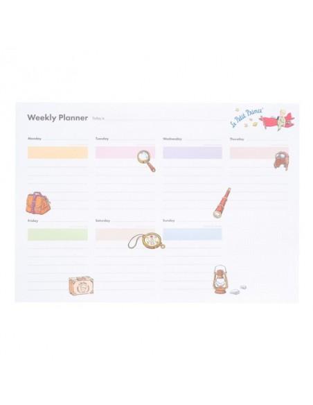 Planificador semanal Le Petit Prince