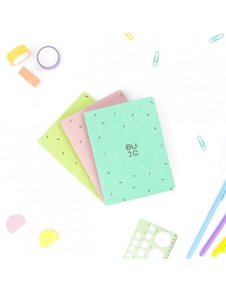 Pocket Journal Candy Colors