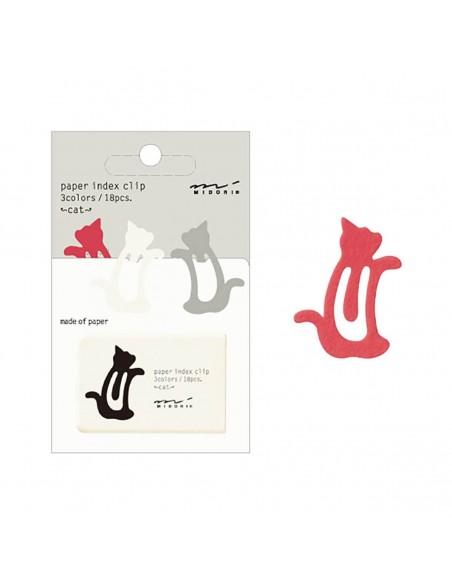 Index Clips Cat