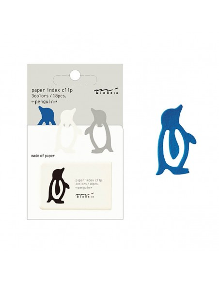 Index Clips Penguin