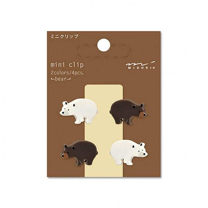 Mini Clip Bear