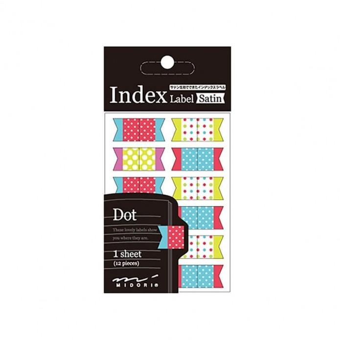 Etiquetas marcapáginas Dots