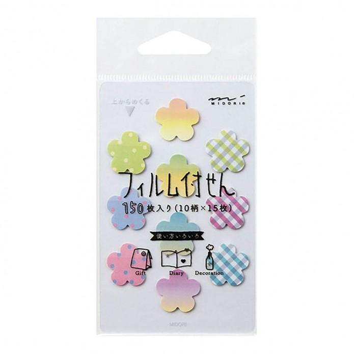 Post it marcapáginas mini - Flowers
